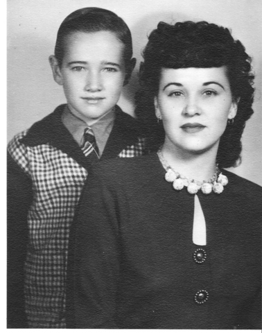 My father Ron Tanner and his Mother.